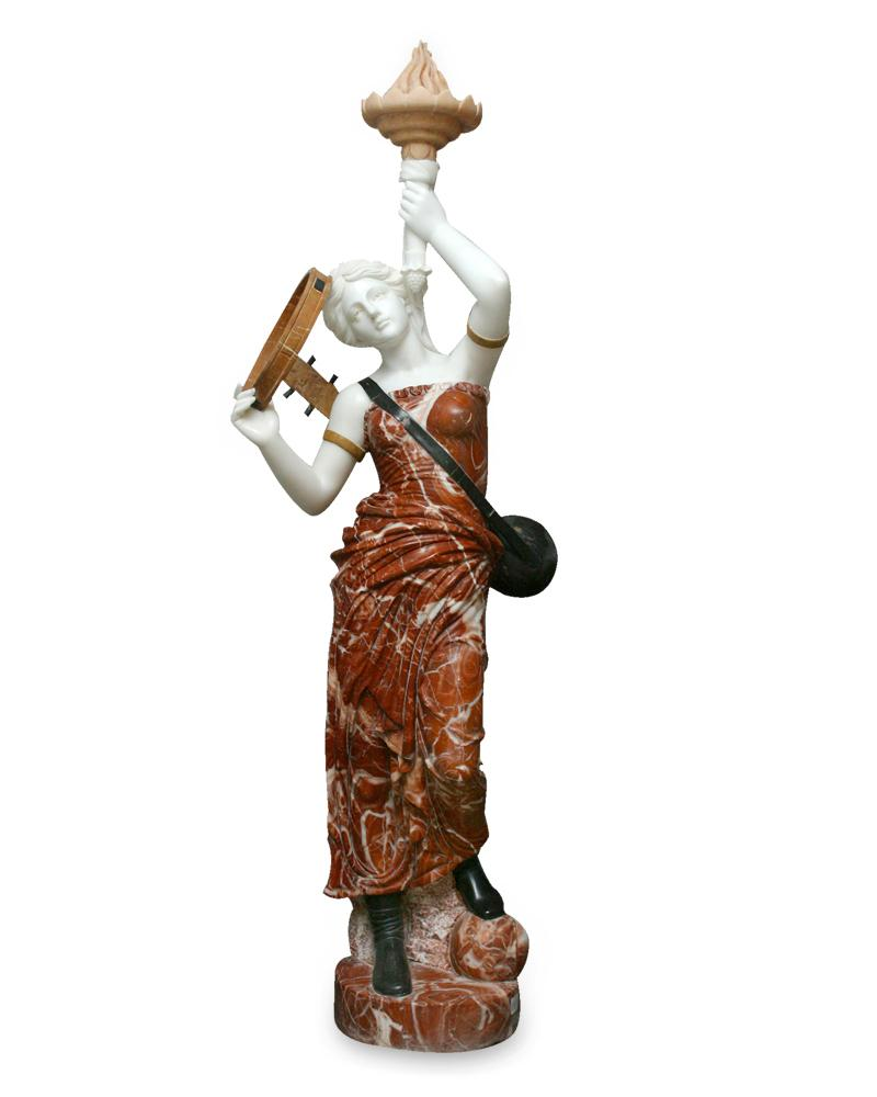 Musian Lady with Lamp