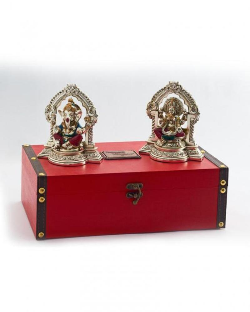 Ganesha Laxmi with arch Set