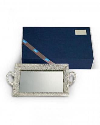 Small Mirror  Tray with handle