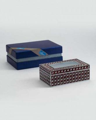 Polka lid  Jewellery Box